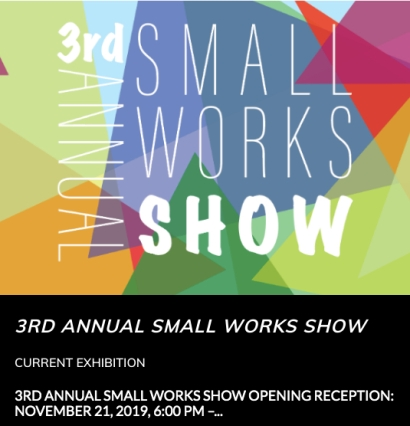 small works poster 11-19